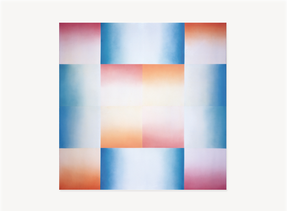 Judy Chicago, Flesh Fan (from the Fresno Fan Series), 1971, Acrylic lacquer on acrylic sheeting