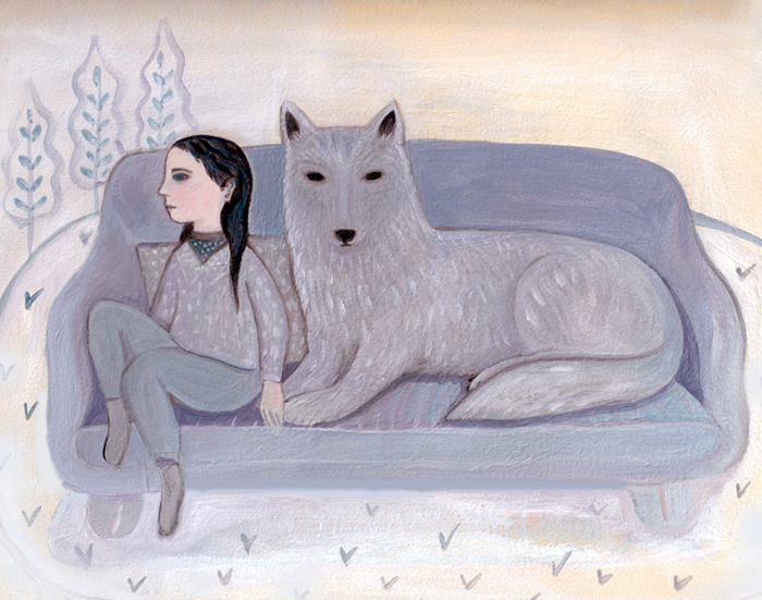 Child and Wolf