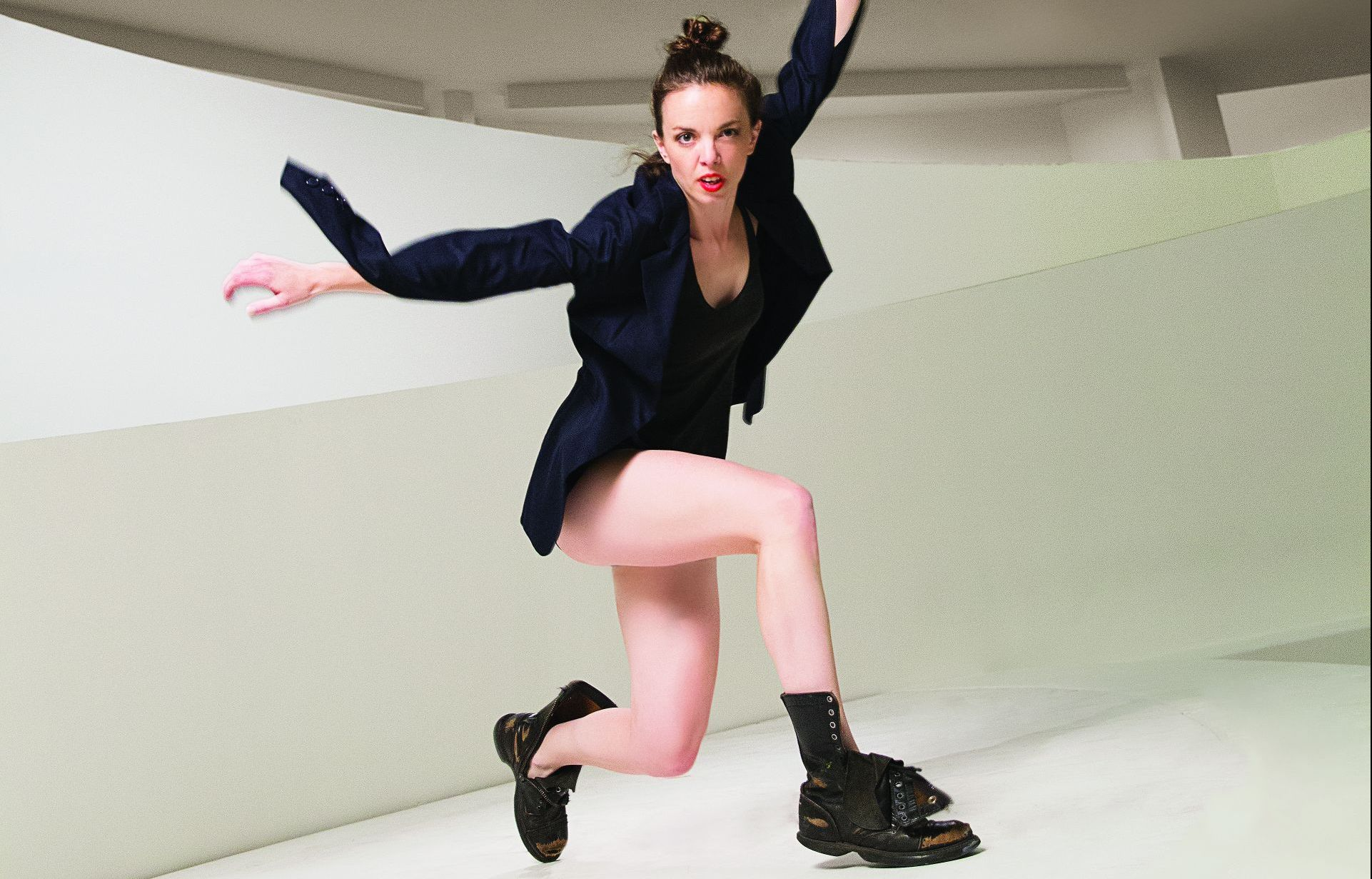 The Future of Tap Dance - This month, we are so honored to feature Michelle Dorrance, a NYC-based tap dancer, choreographer, director, teacher and performer. She is also the founder and Artistic Director of Dorrance Dance, whose work aims to honor tap dance's uniquely beautiful history in a new, dynamic, and compelling context.Photo by Erin Baiano.