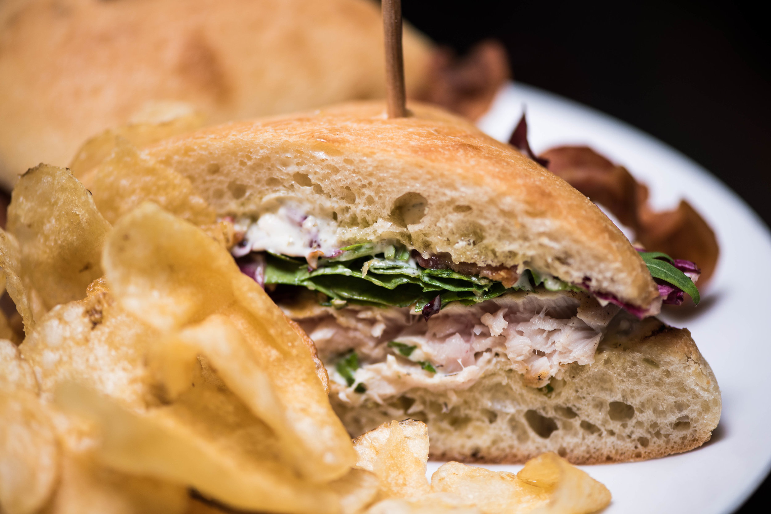 Tuna Sandwich          Shakewell Restaurant Oakland