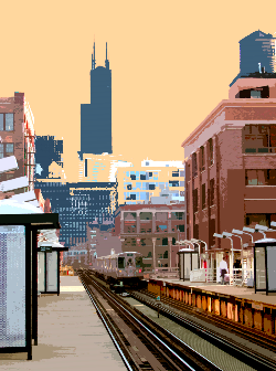 Chicago Ave L Stop, Kevin Swallow.jpg