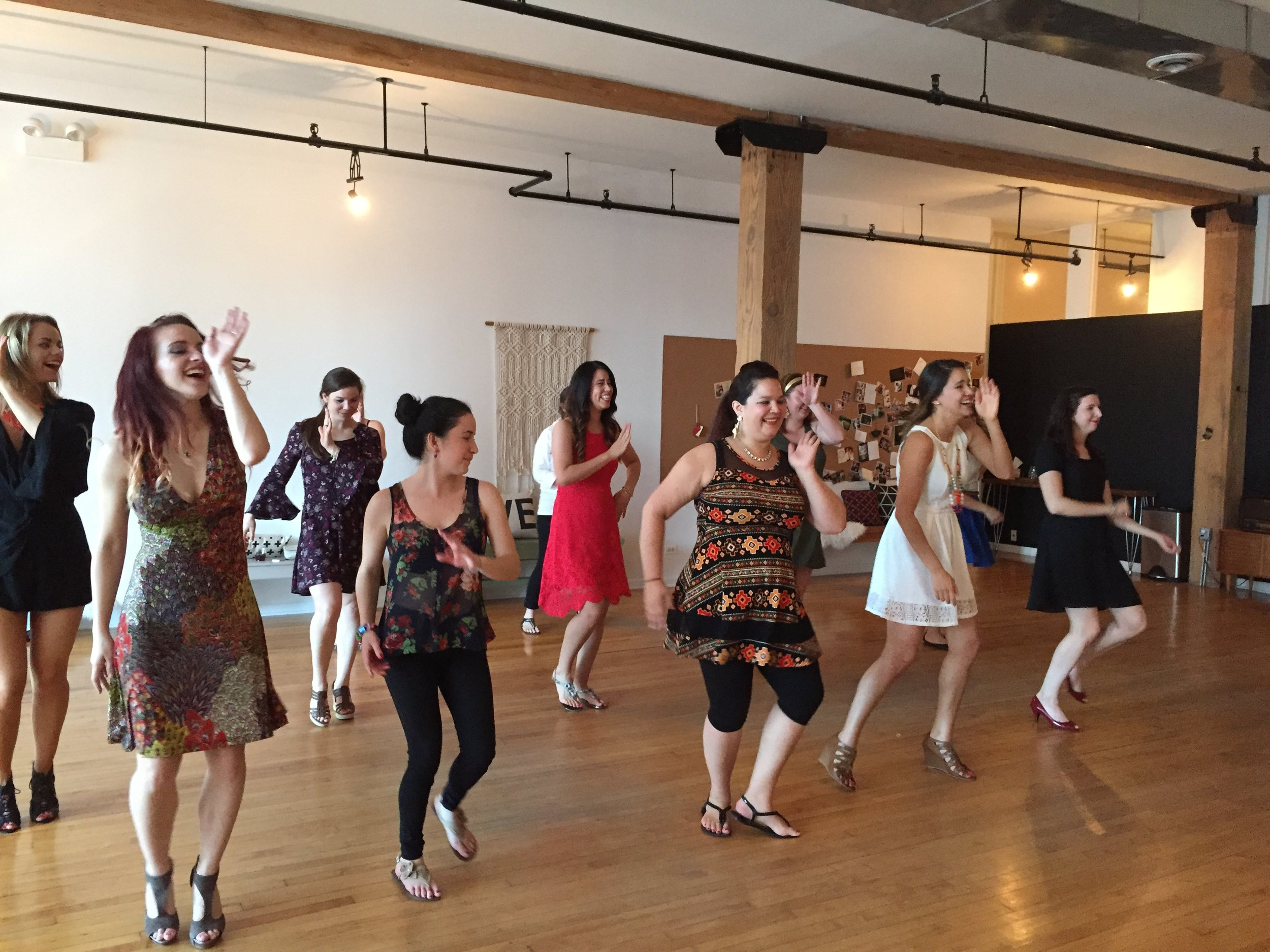 Bachelorette Dance Class Chicago