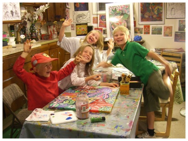 Here we are back in 2006 in the basement of my parent's house in Longmont ;)