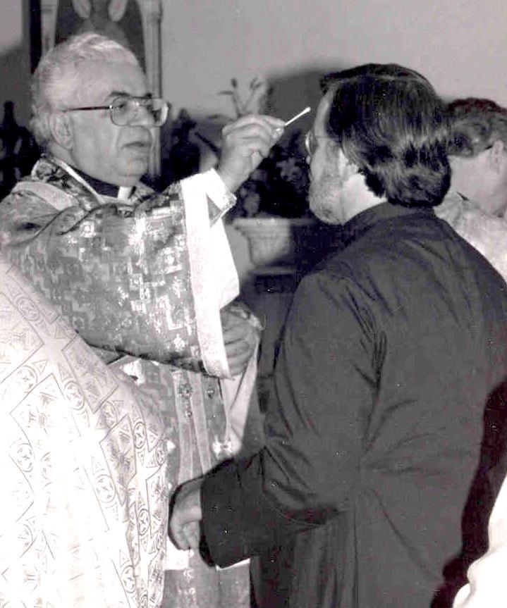 Fr. Gregory Chrismated