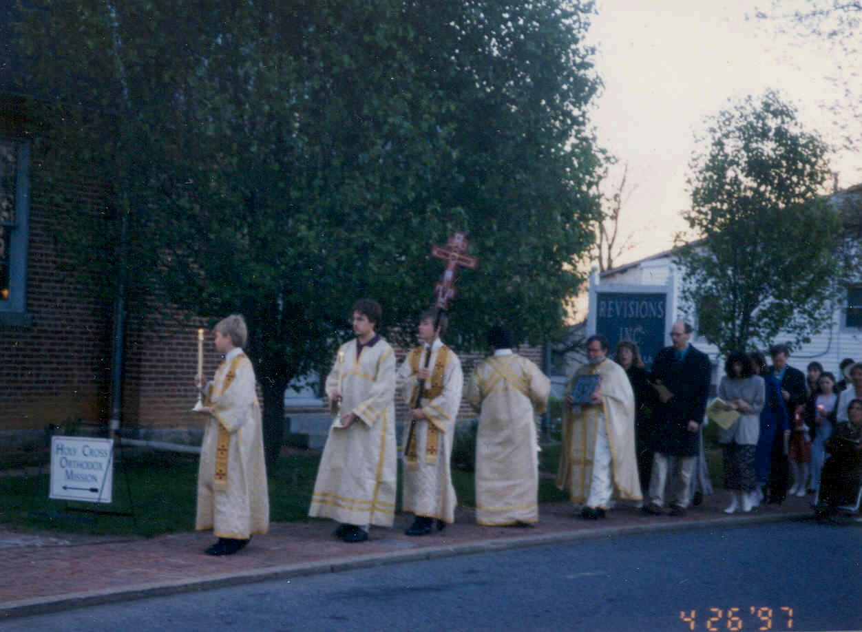 Procession at Revisions