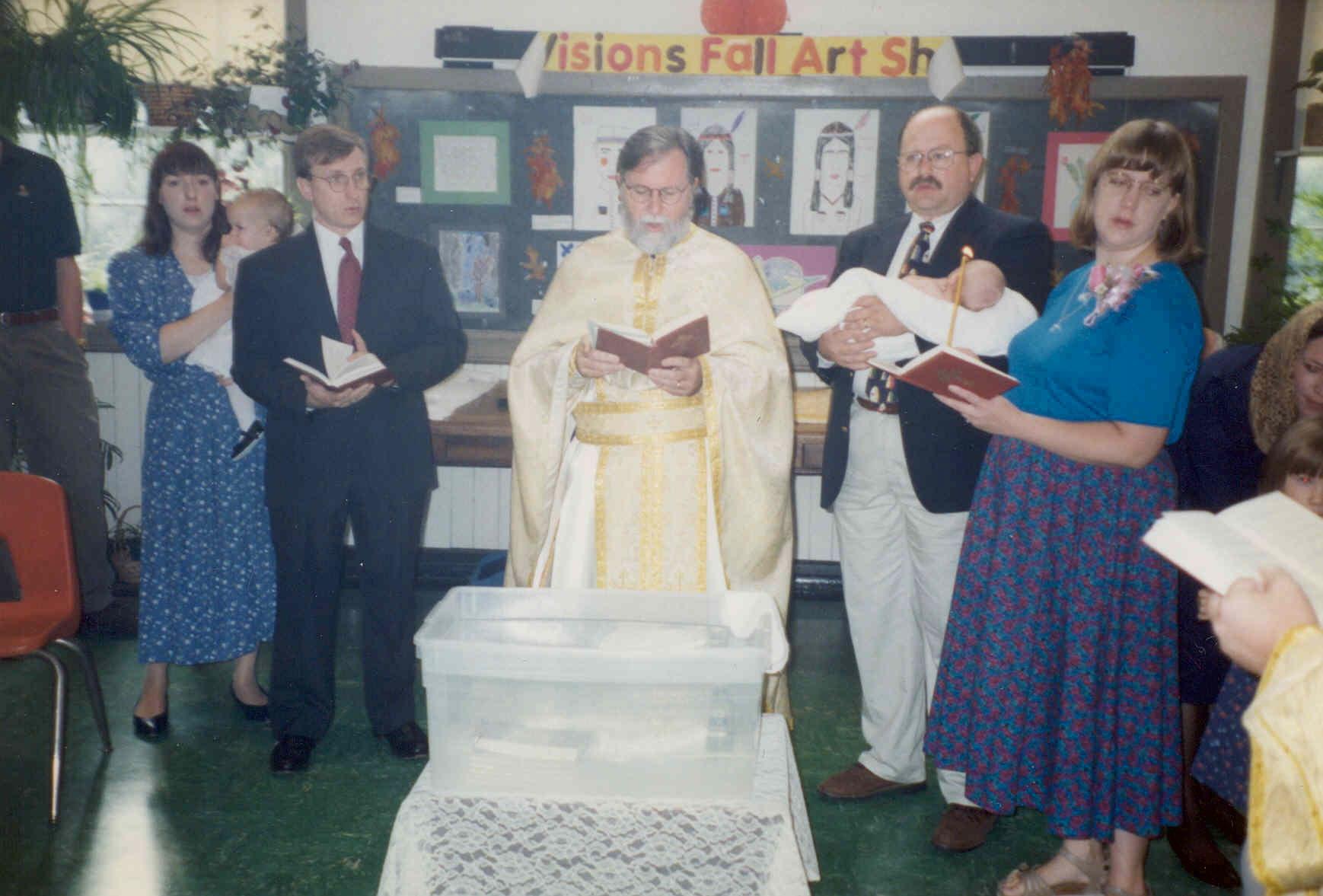 Baptism at Revisions