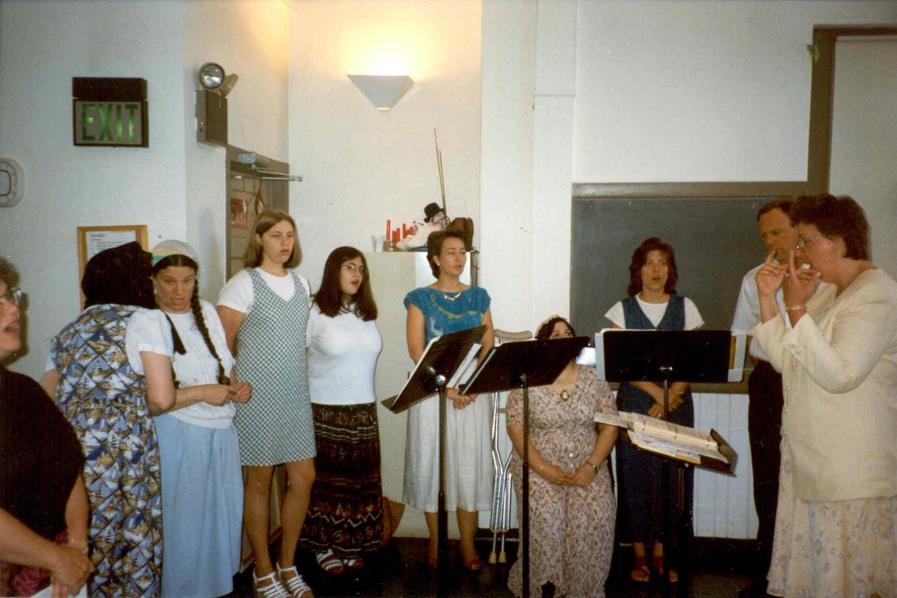 Choir at Revisions