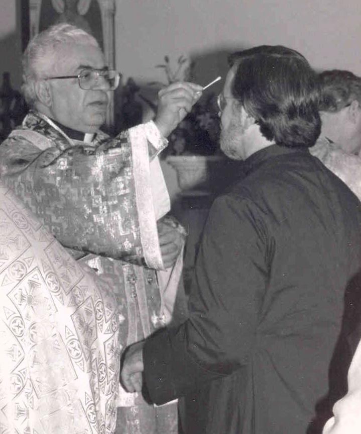 Fr. Gregory's Chrismation