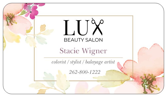 hair - Stacie is an experienced stylist who trained in Las Vegas, with over 13 years of experience. She currently is taking new clients for color and haircuts.