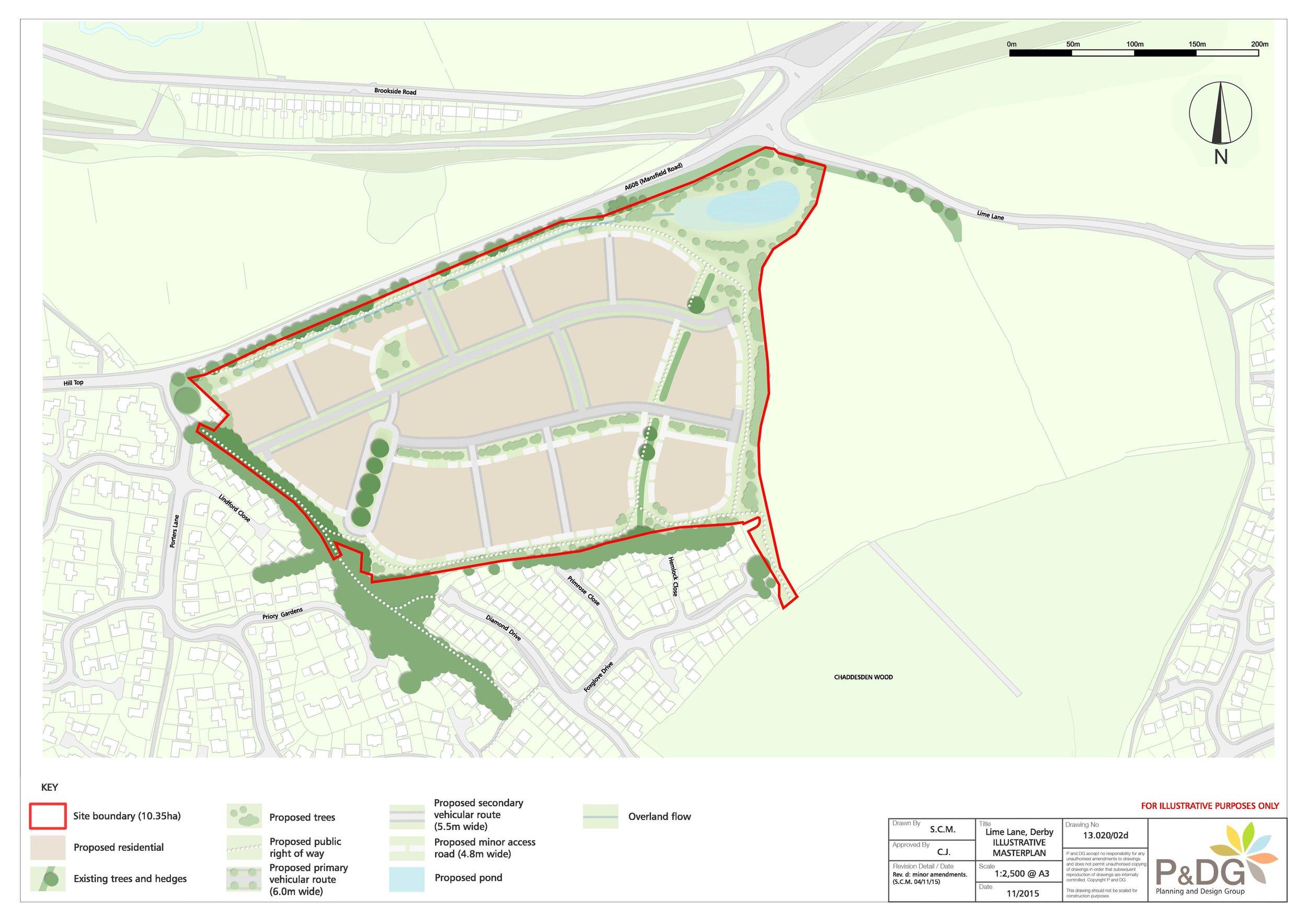 Lime Lane Illustrative Master Plan