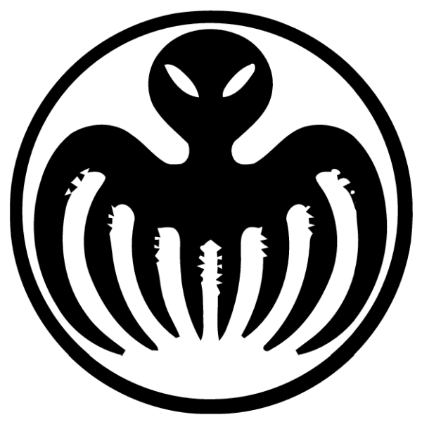 Ifyou didn't get the live action poster symbol, here's the original Spectre logo.
