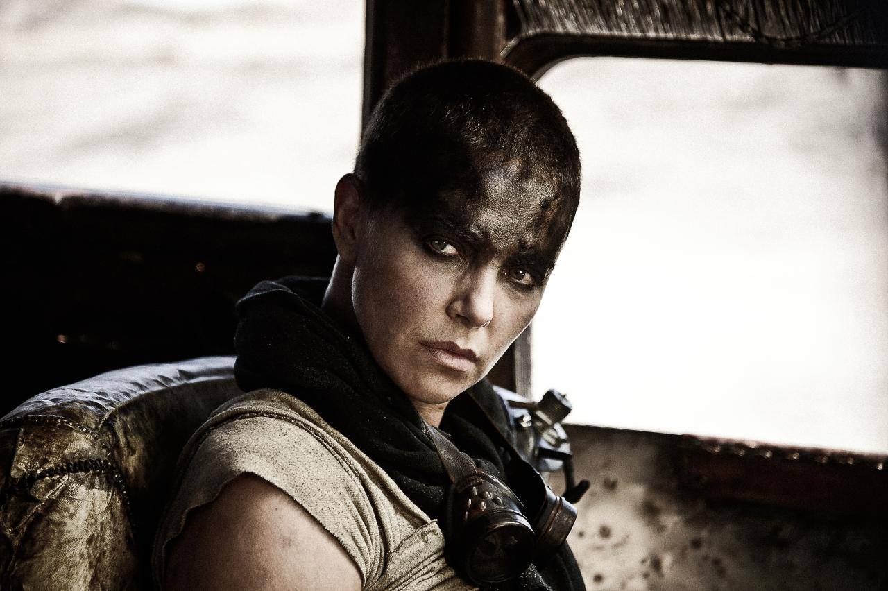 Charlize Theron, bad ass.