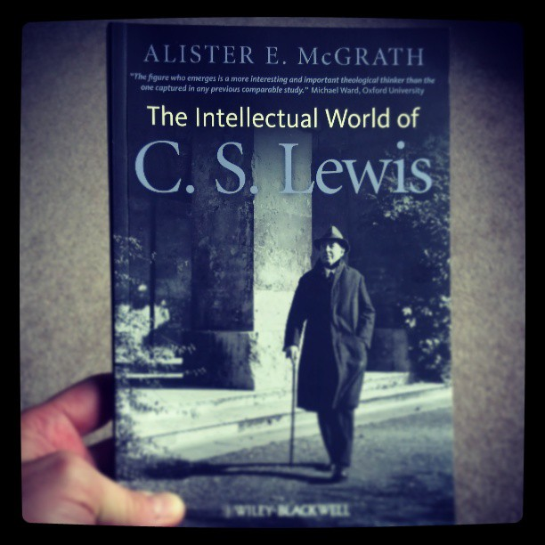 Brand new from @alisteremcgrath // The Intellectual World of C.S. Lewis #mustread