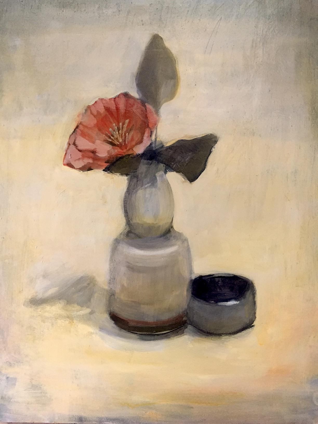 Poppy and small pot.JPG