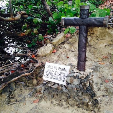 Columbus's cross