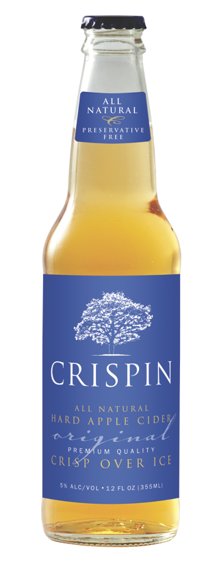 Package design for Crispin Cider company.