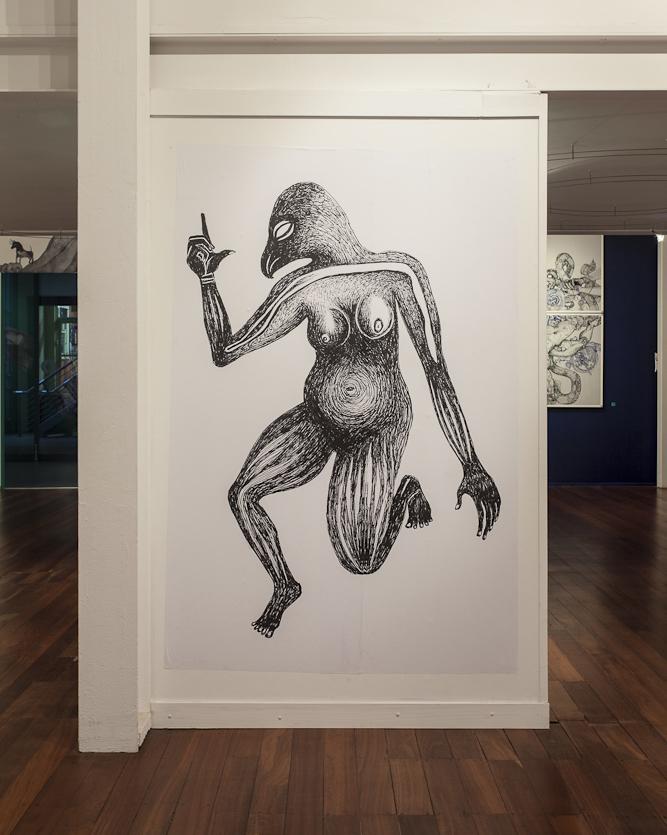 Bird warrior, FORM Gallery, Perth, 2012