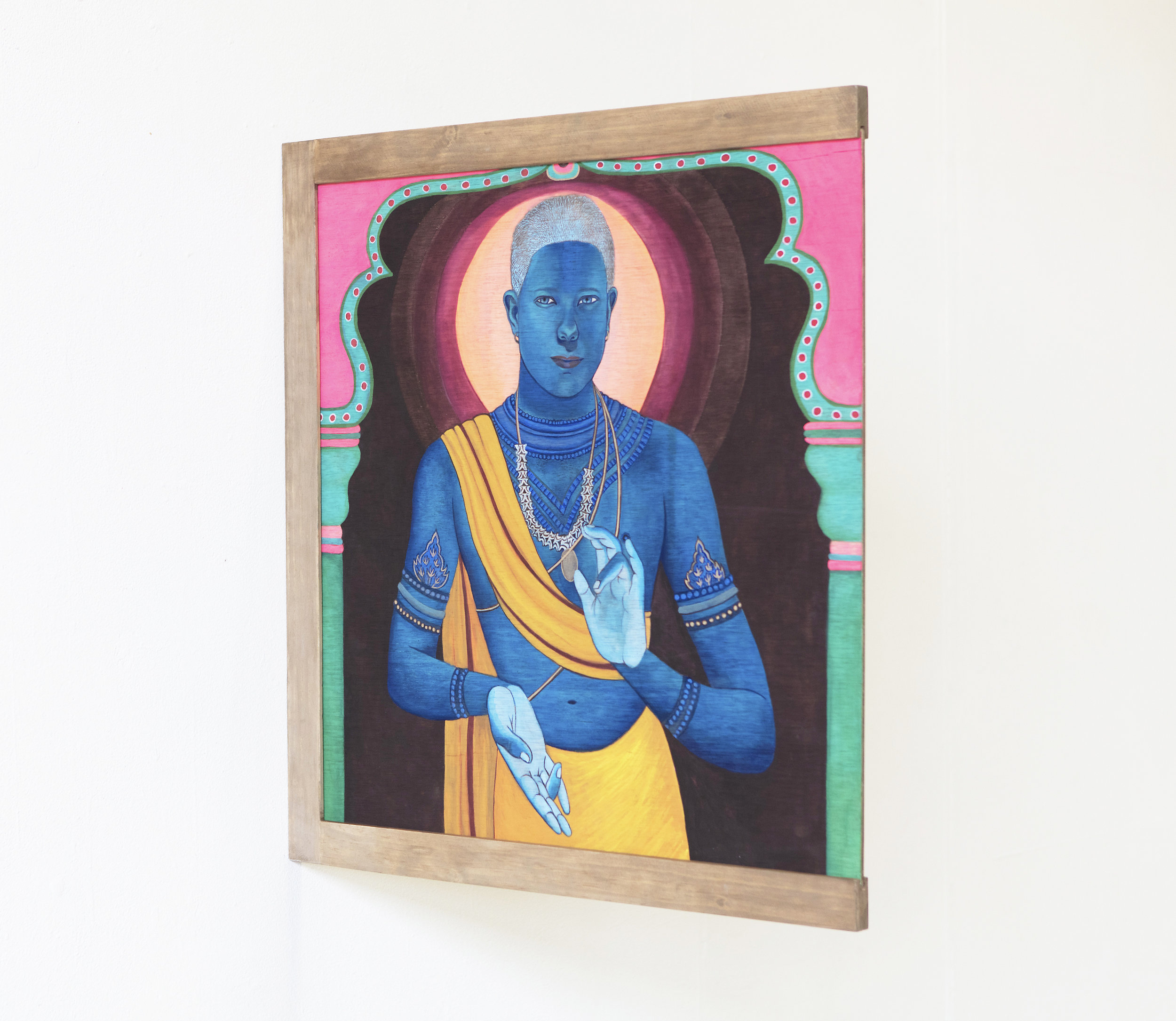 Archie as Krishna, 2016