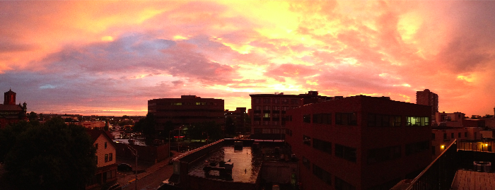 A view from my roof.