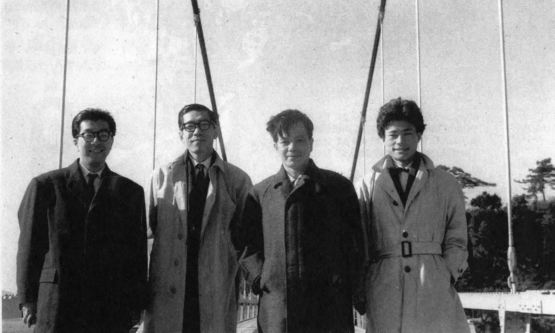 (Project Japan, pg 204)Left to Right: Kikutake,Asada,Kawazoe, Kurokawa