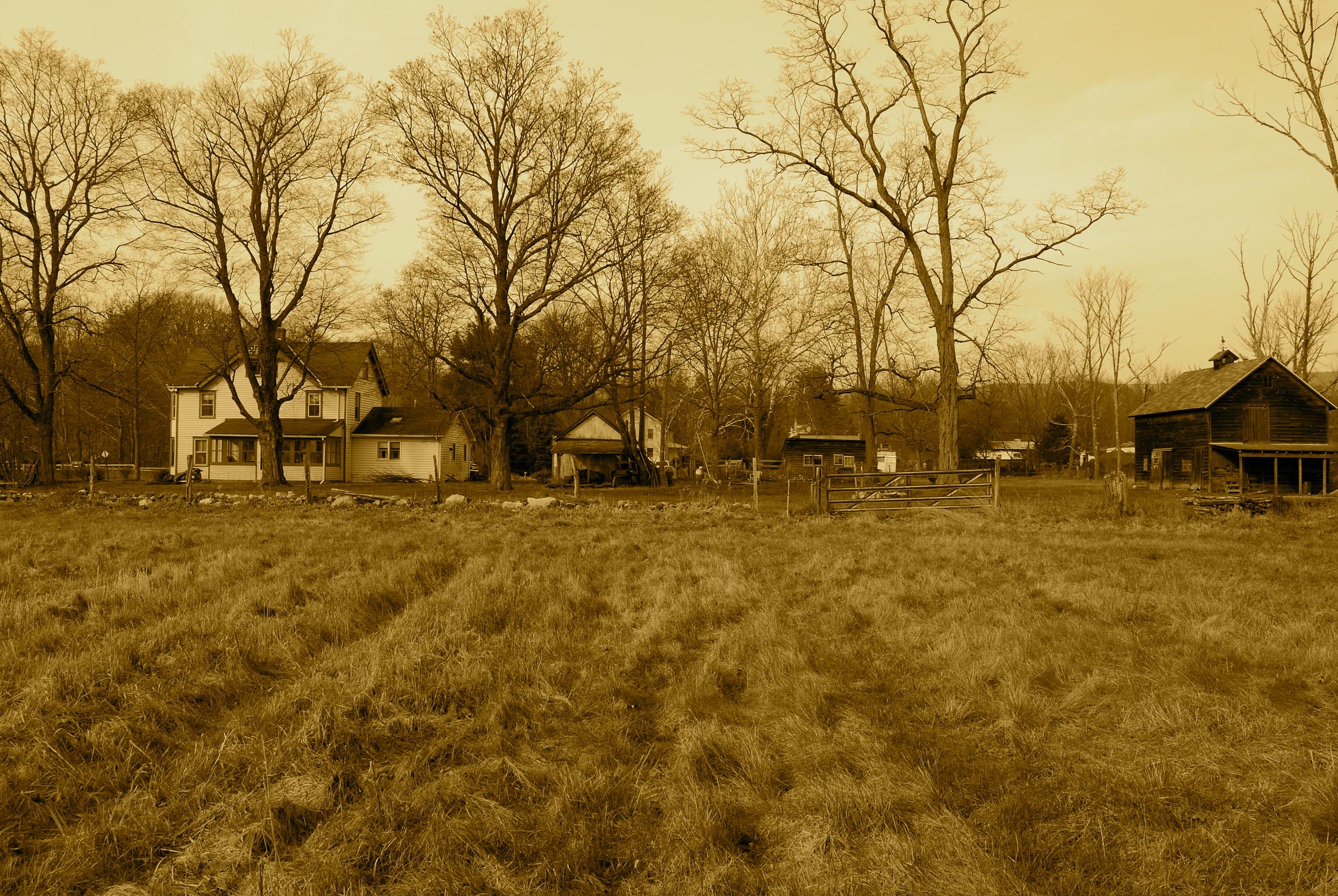 "©""Old Farm"" photograph by Shelita Birchett Benash"