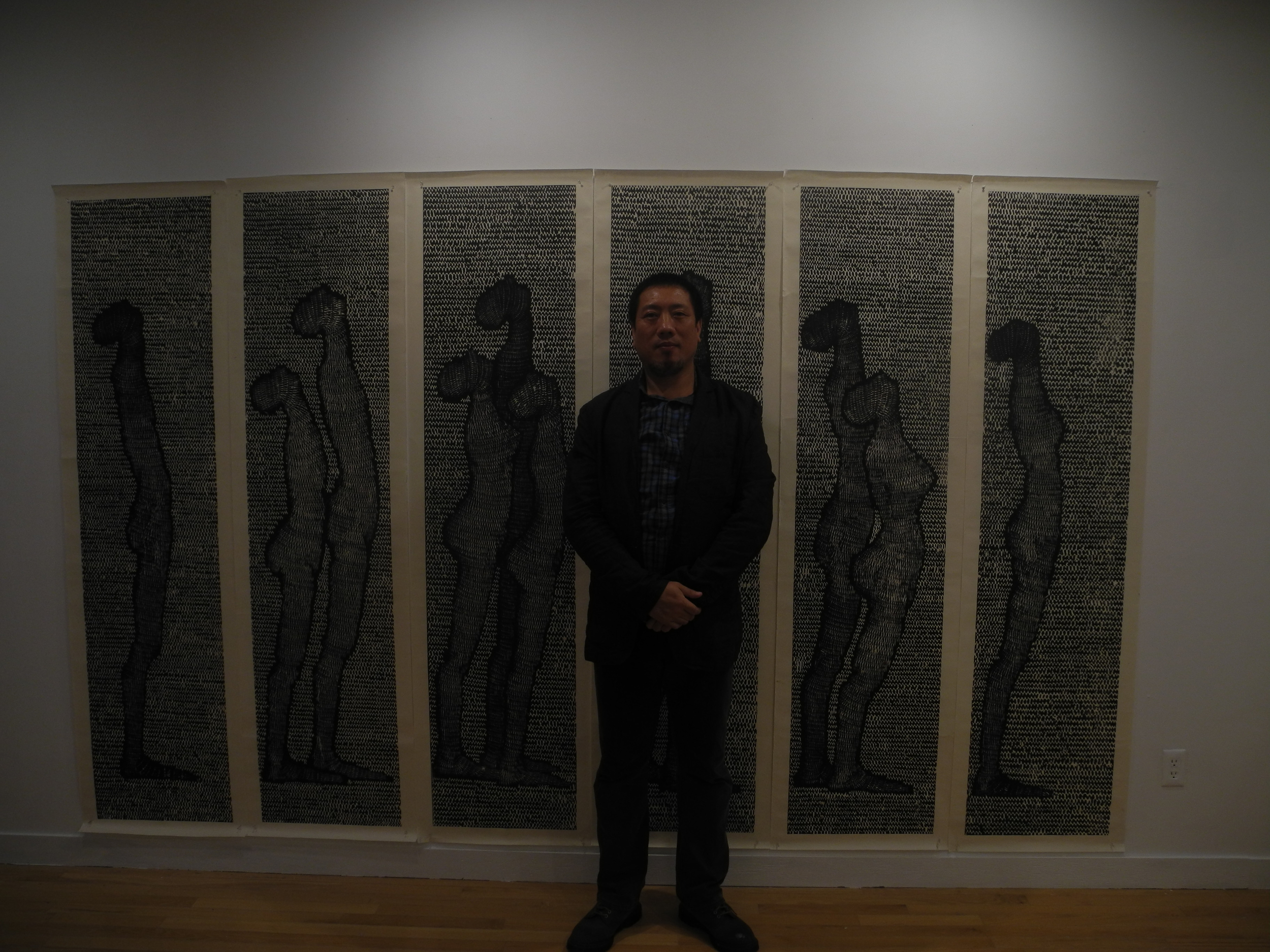 Hudson Valley Center for Creative Arts presented the works of Luo Xiangke at Art Centro, 10/23/14.