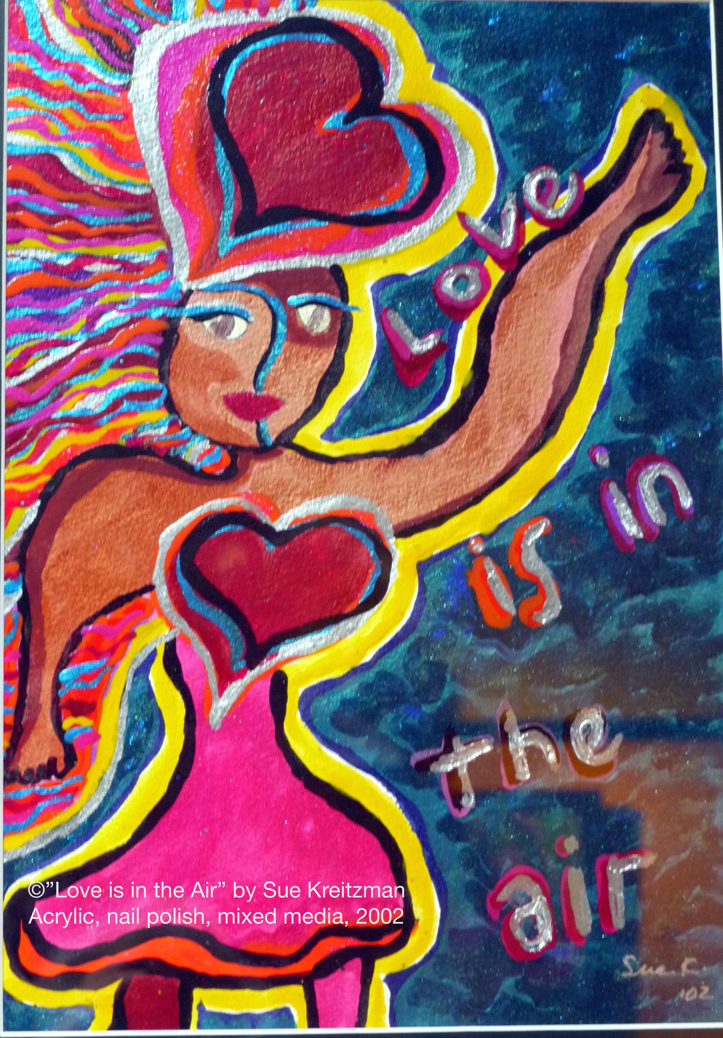 Sue Kreitzman Out of Bounds Freedom of Expression Shelita Birchett Benash Curator, 2015
