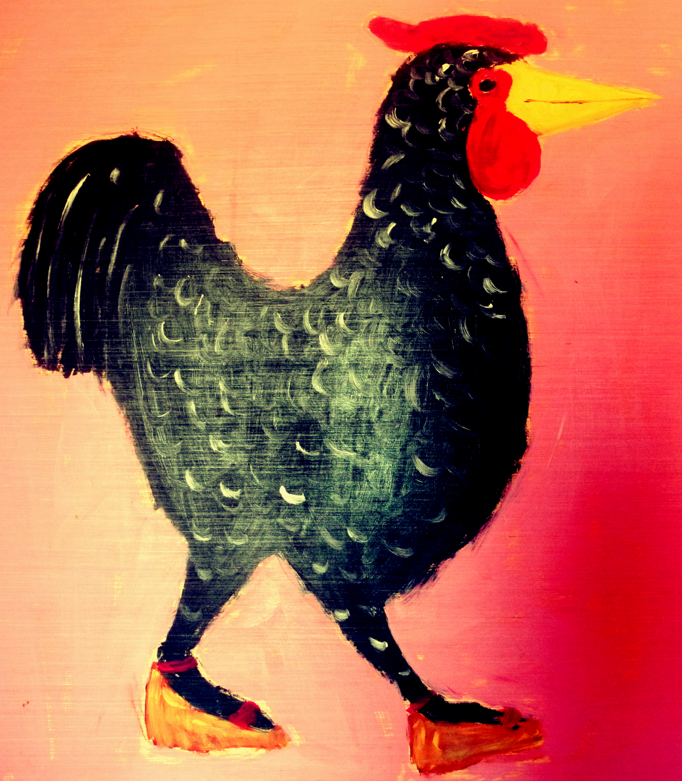 ©Rooster by Earl Swanagan, 2015.