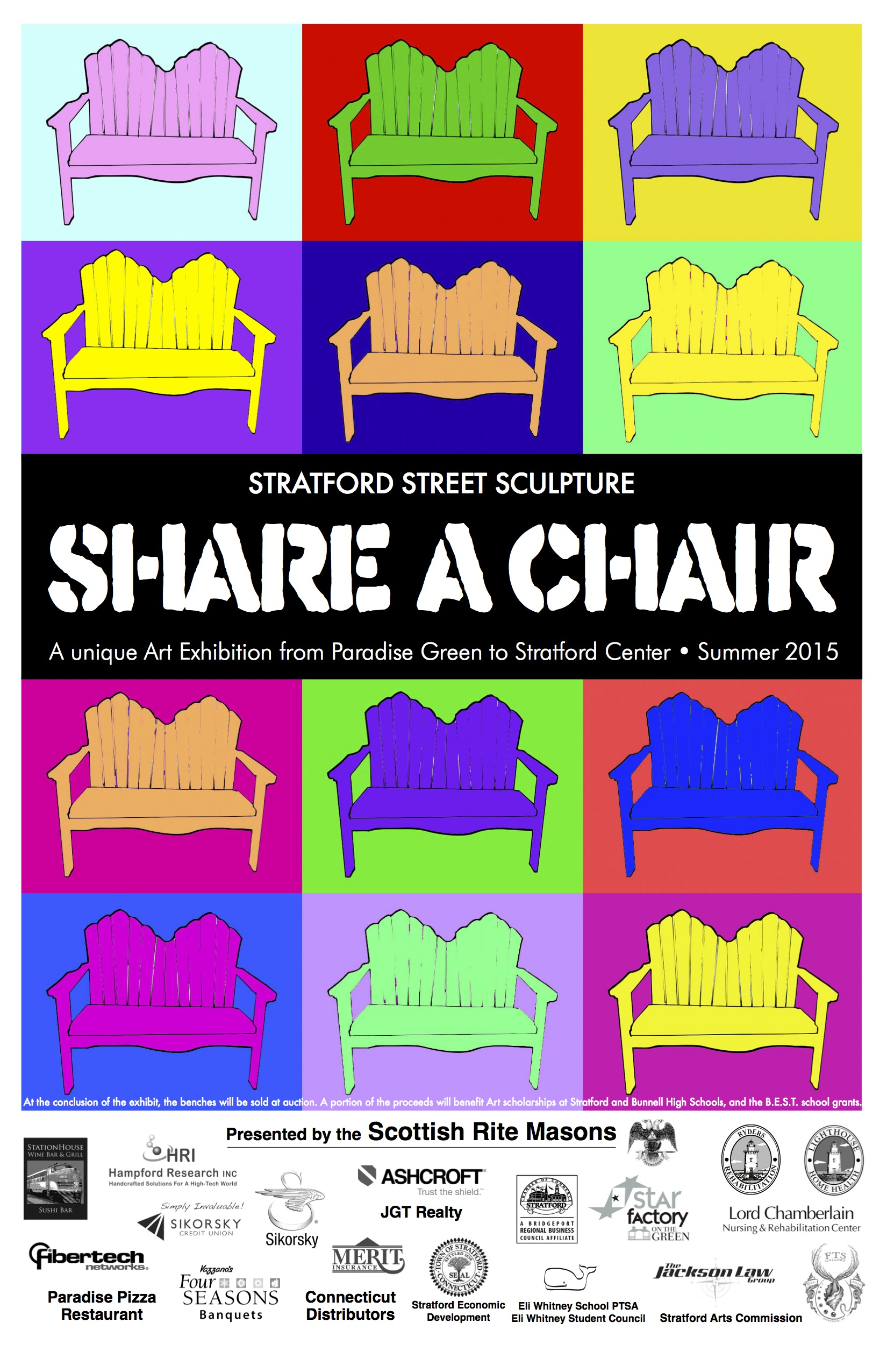 Share a Chair in Stratford, CT. 2015, Shelita Birchett Benash