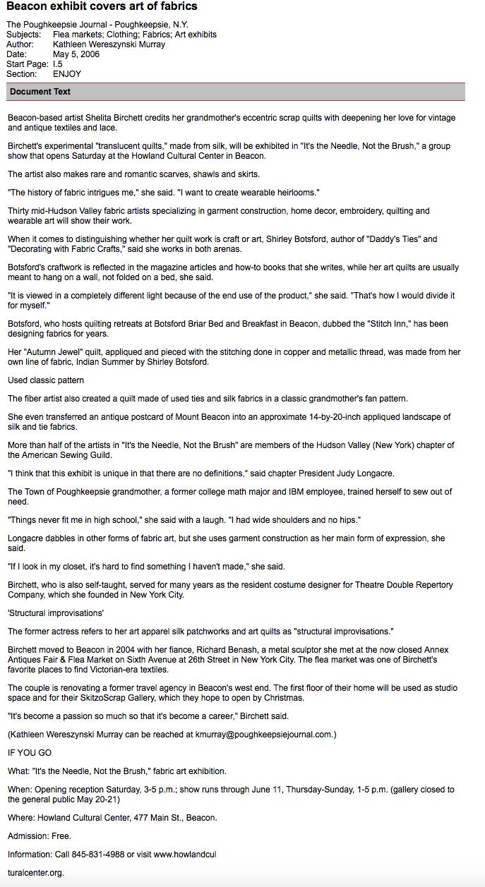 Poughkeepsie Journal_Beacon_2006_press.jpg