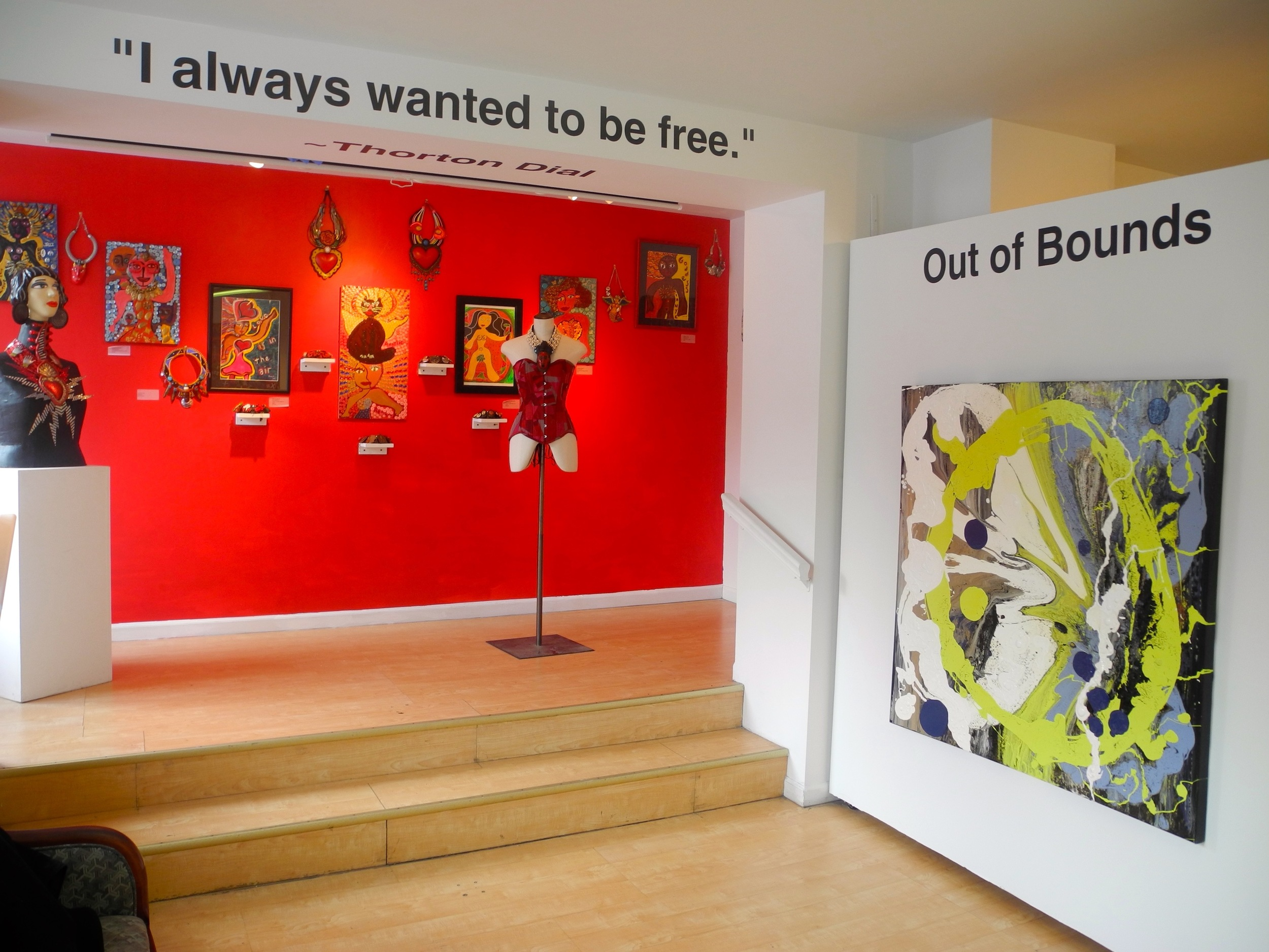 OUT OF BOUNDS_CURATED BY SHELITA BIRCHETT BENASH_GALLERY_1