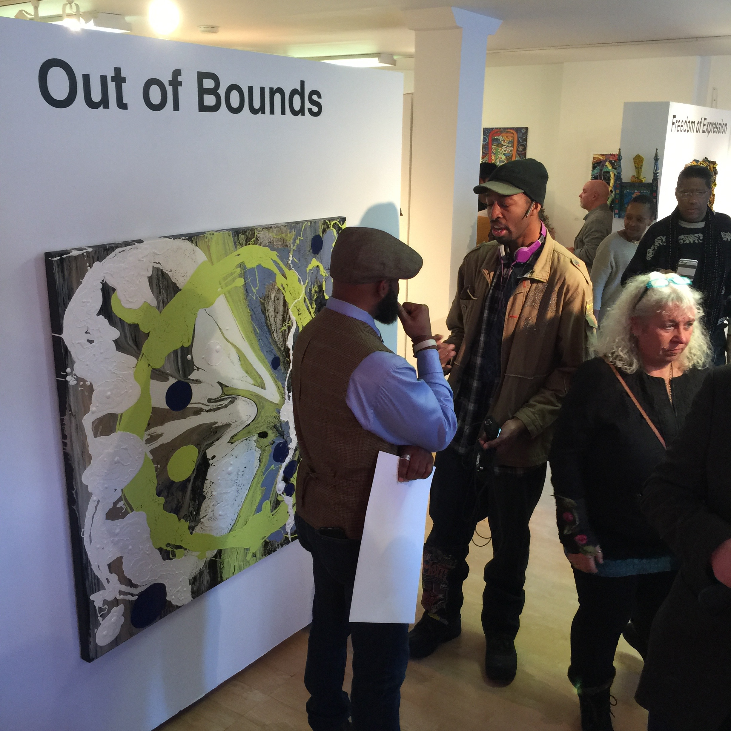 OUT OF BOUNDS_CURATED BY SHELITA BIRCHETT BENASH_OPENING_14