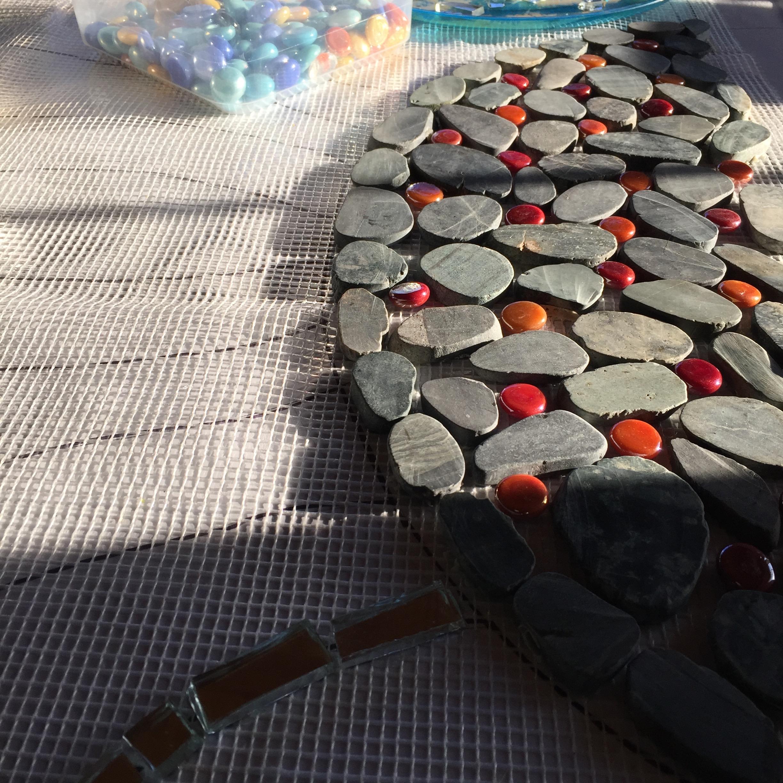 Shelita Birchett Benash_Public Art Mosaic_Work in Progress_2015