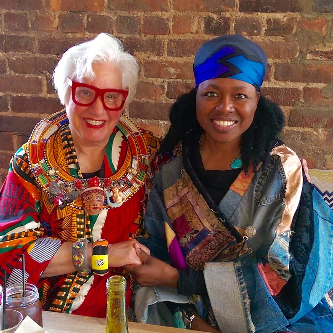 Shelita Birchett Benash with Sue Kreitzman in Harlem Spring 2016