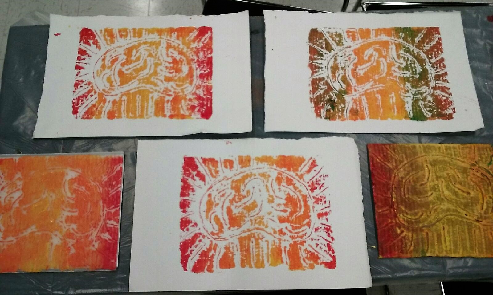 Prints by Peter Buotte at the Open Studio