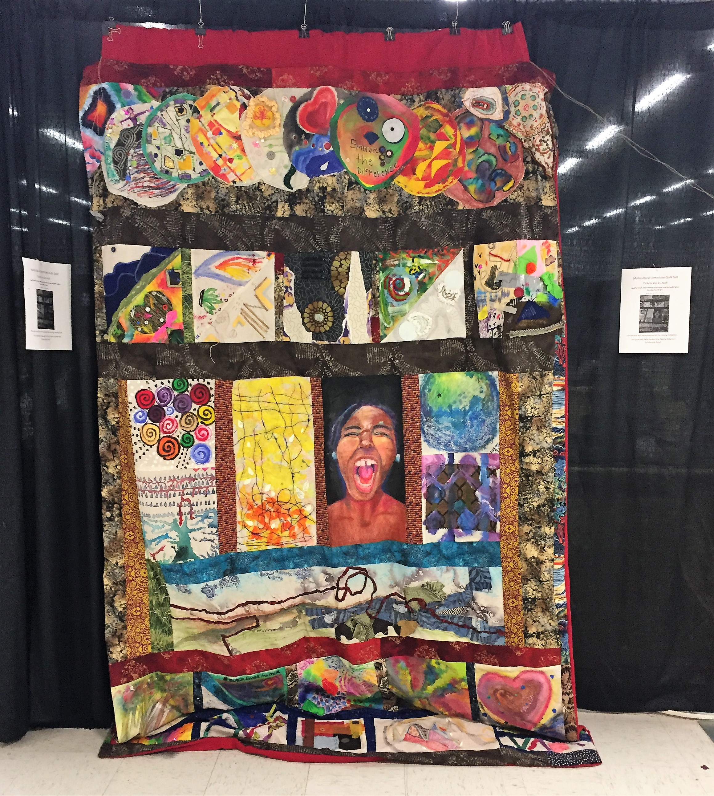 Multicultural quilt for sale