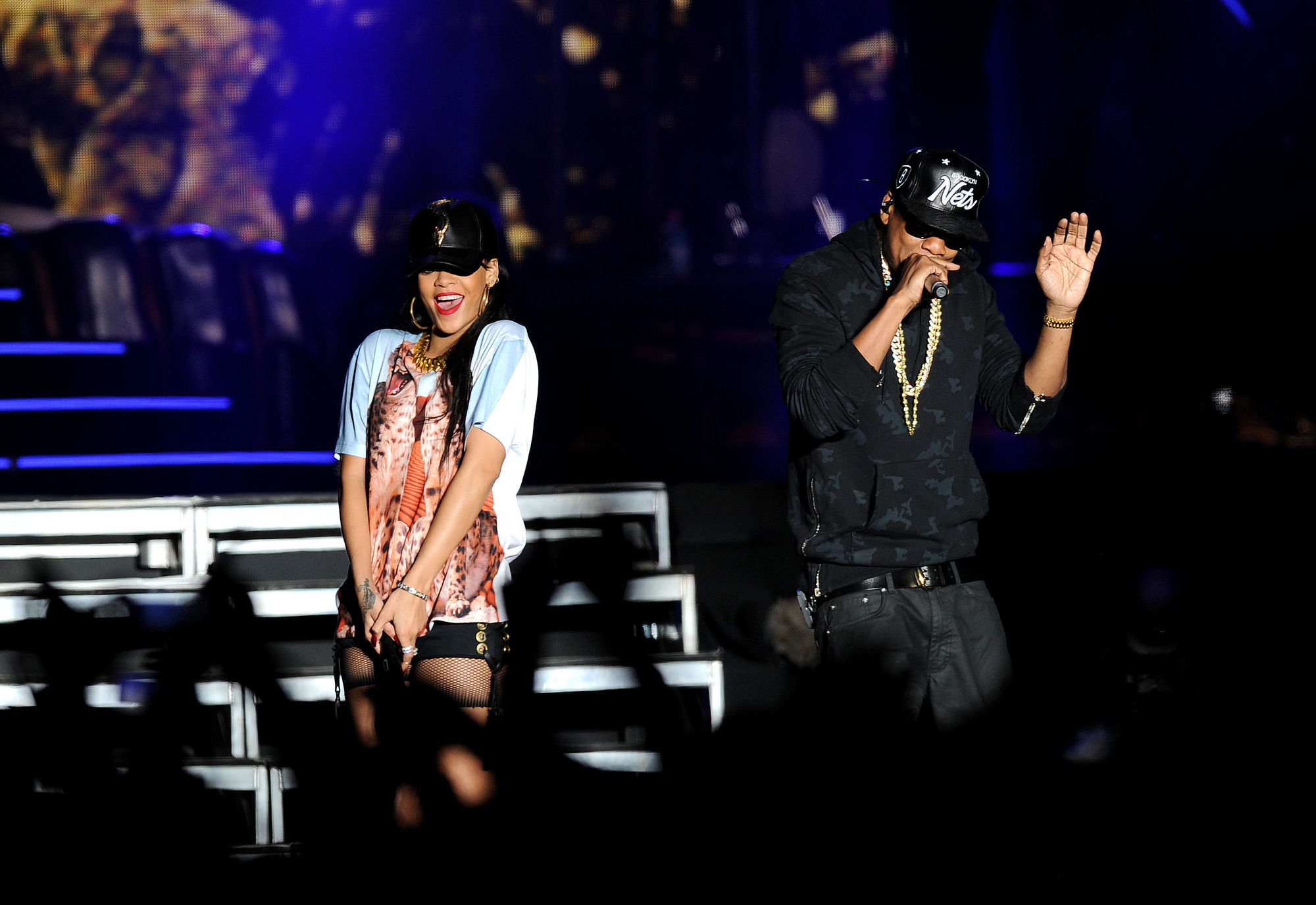 Rihanna & Jay Z at the Hackney Weekend