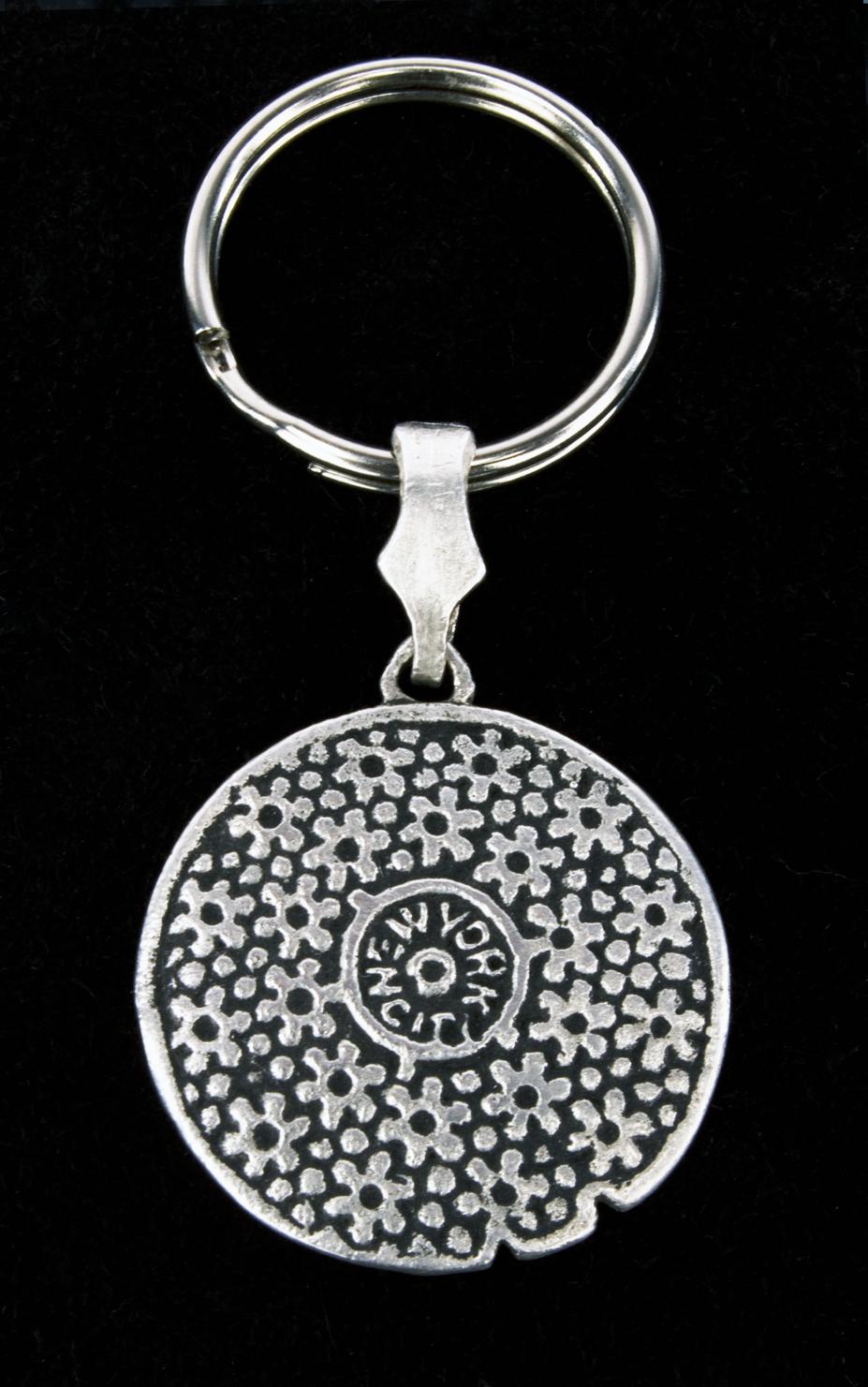 manhole cover_silver keychain D.jpg