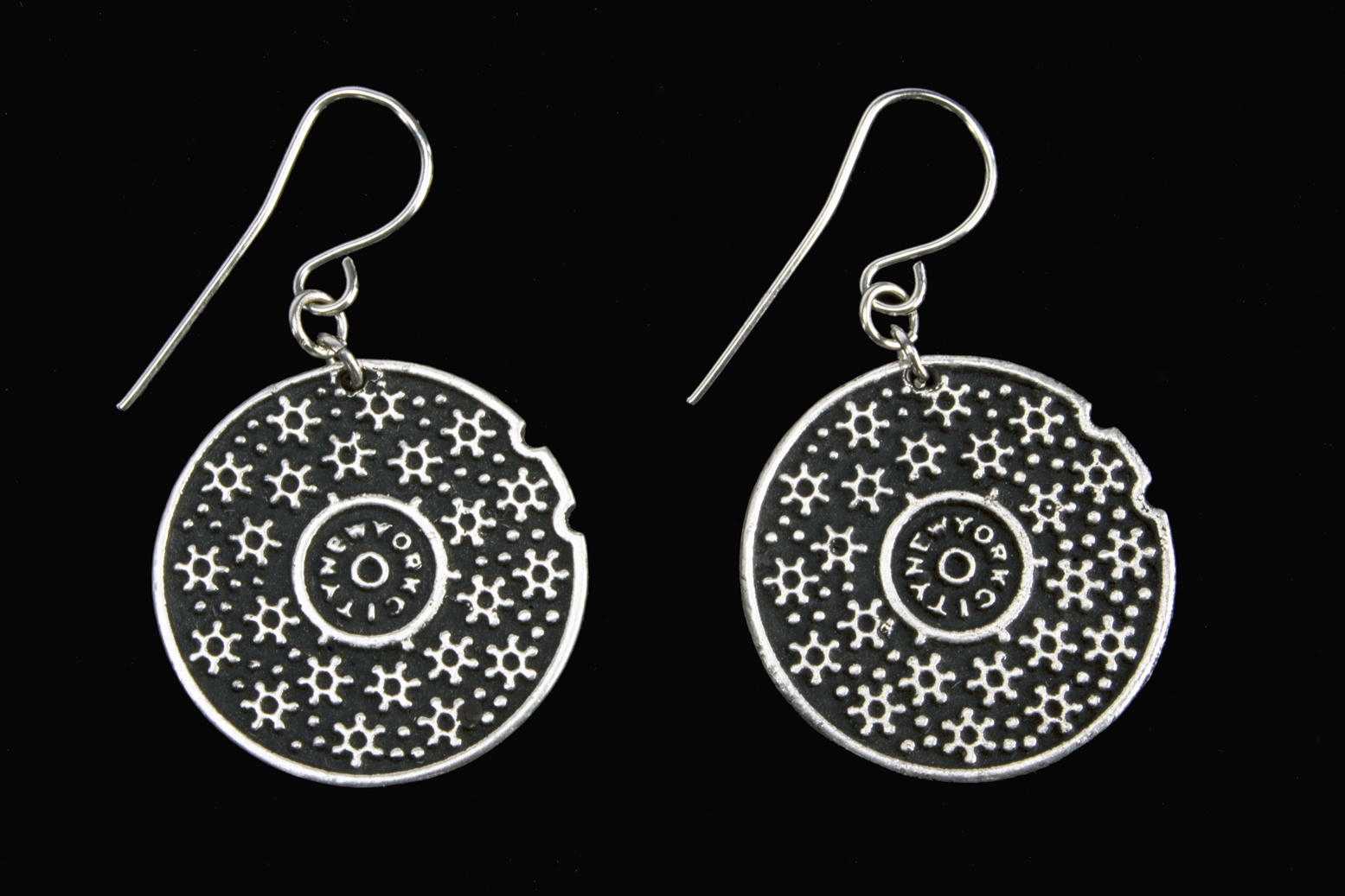 manhole cover_silver earring A.jpg