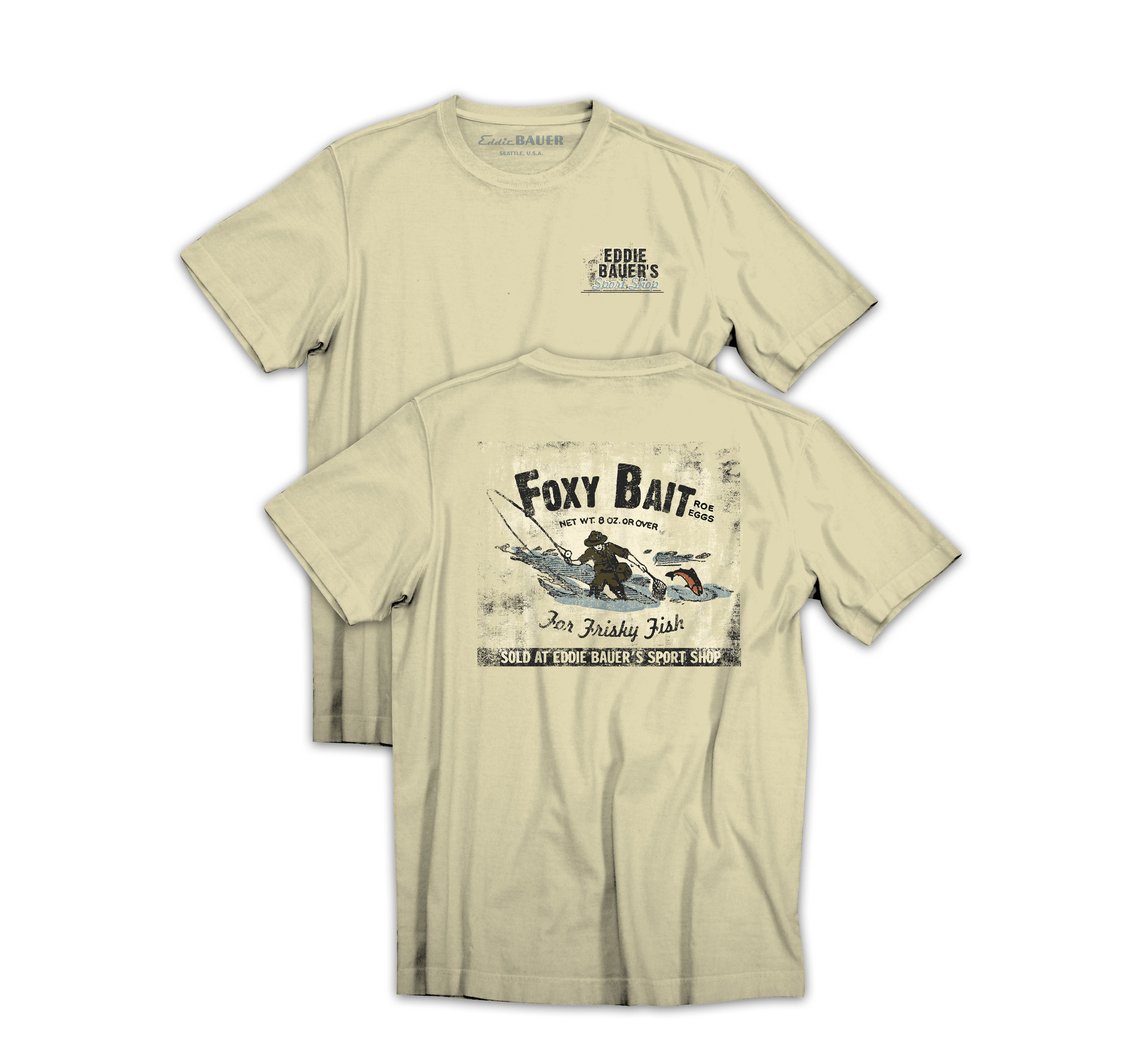 Mens graphic tees for Eddie Bauer