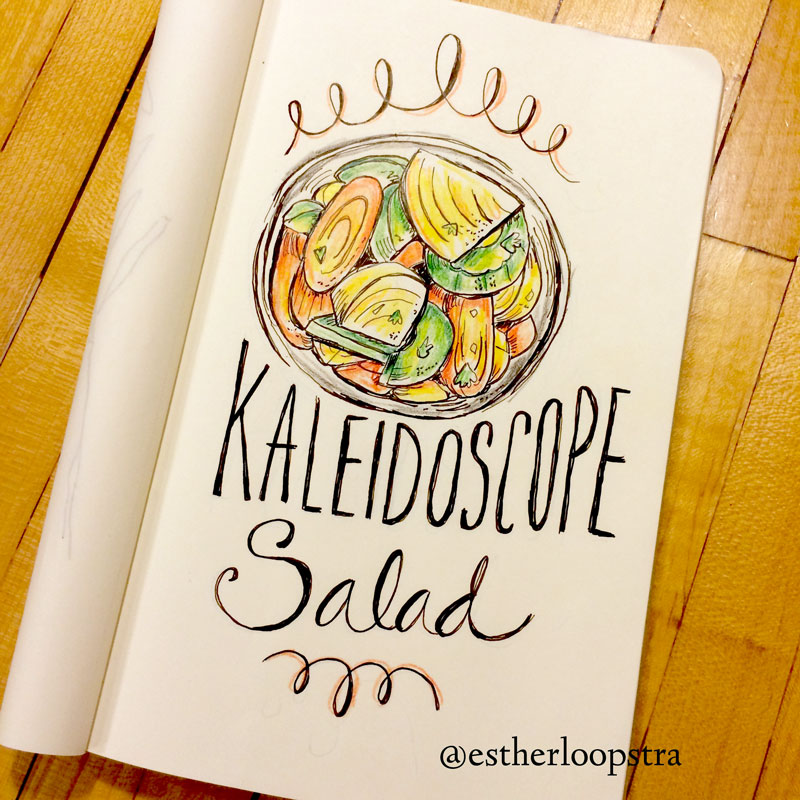 Kaleidoscope salad