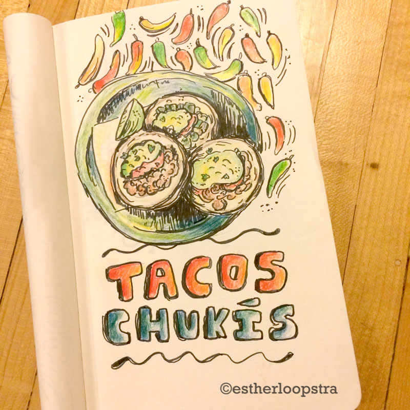 Tacos Chukis eloopstra