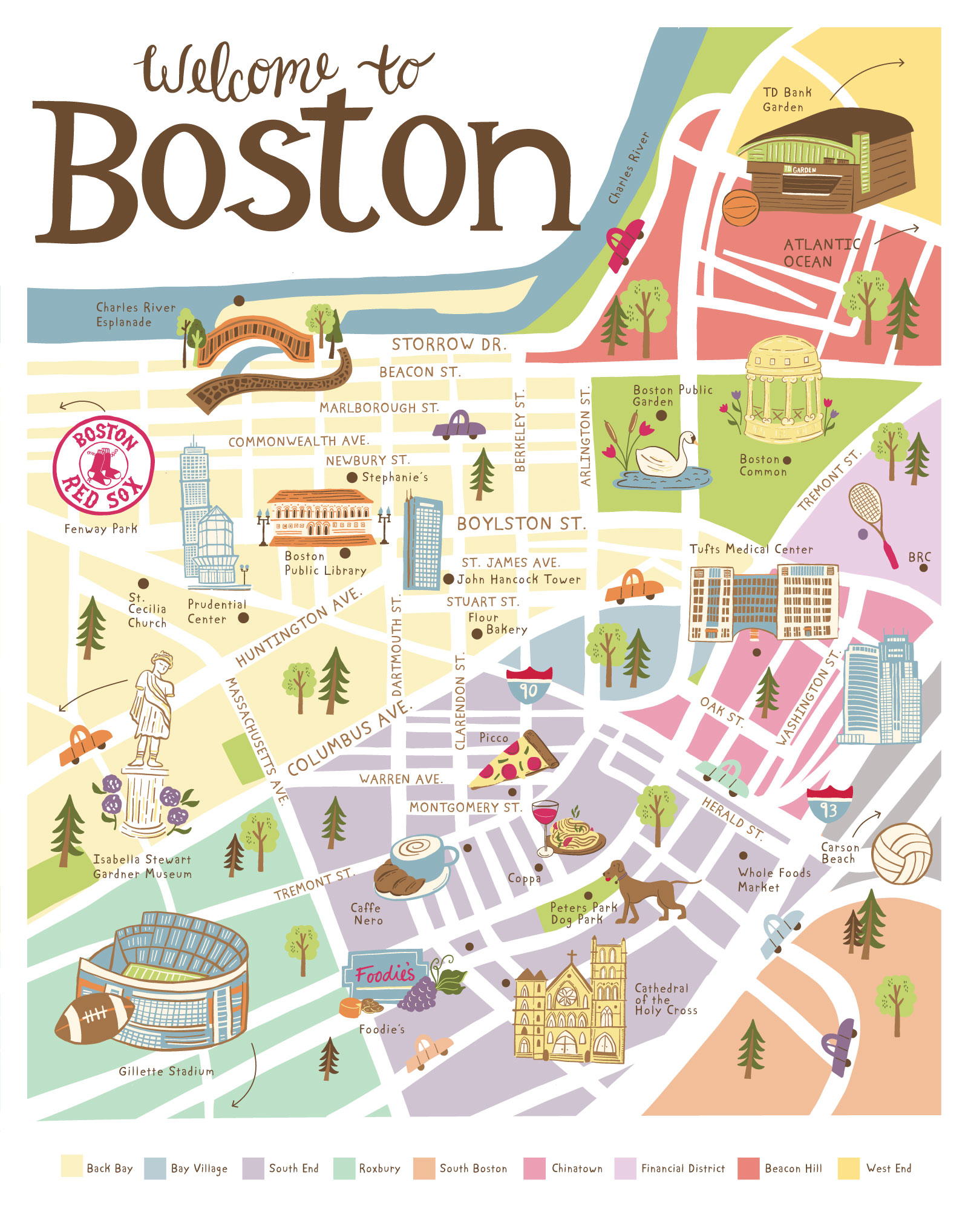 Boston Map — ESTHER LOOPSTRA on massachusetts map, mass map, charles town map, pennsylvania map, ma map, lexington map, michigan map, u.s. state map, freedom trail map, ny map, usa map, fenway park map, texas map, new england map, phoenix map, mississippi map, america map, philly map, cambridge map, united states map,