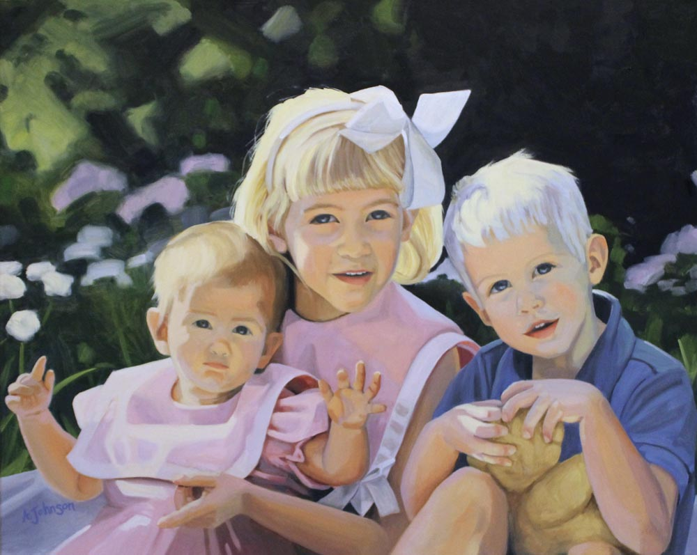 "oil on canvas, 24x30"""