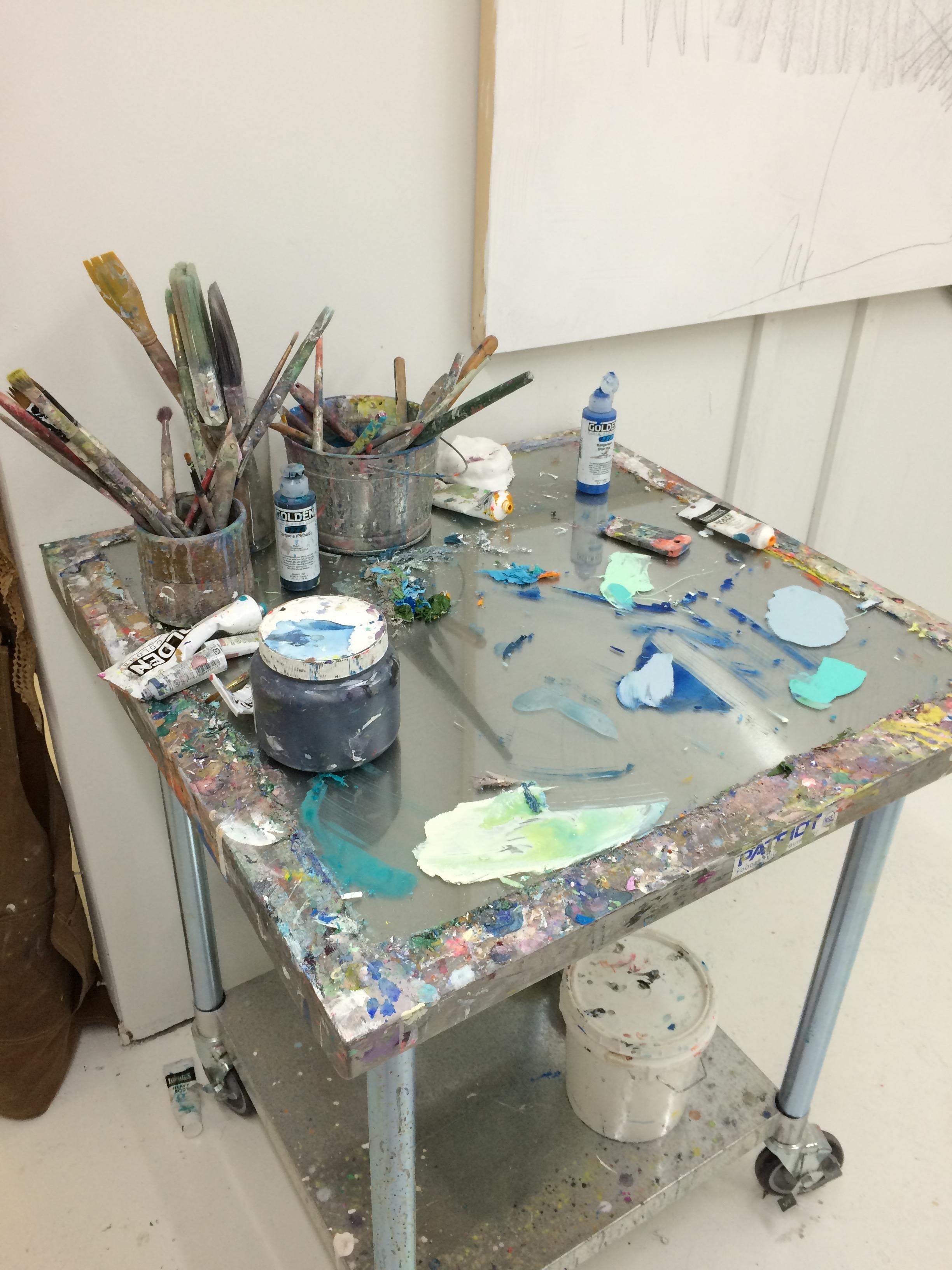 Raven's palette table