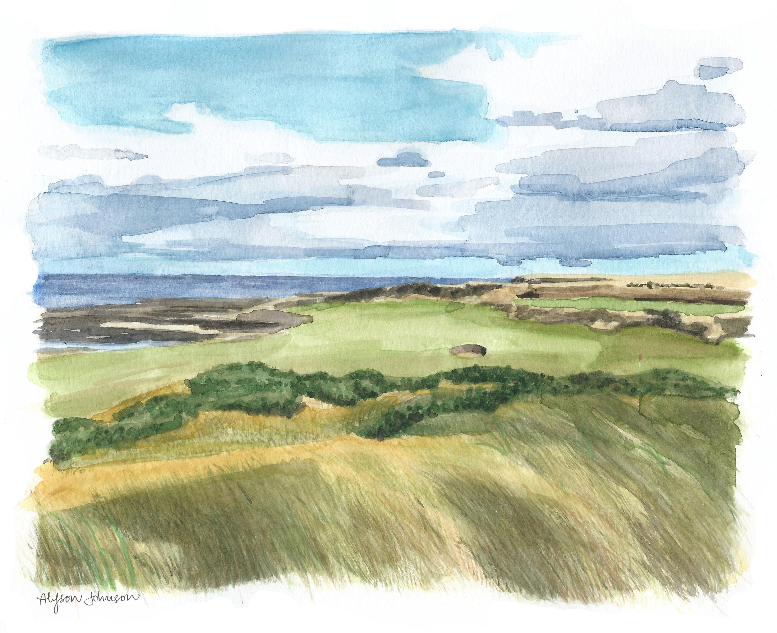 Scotland Watercolor
