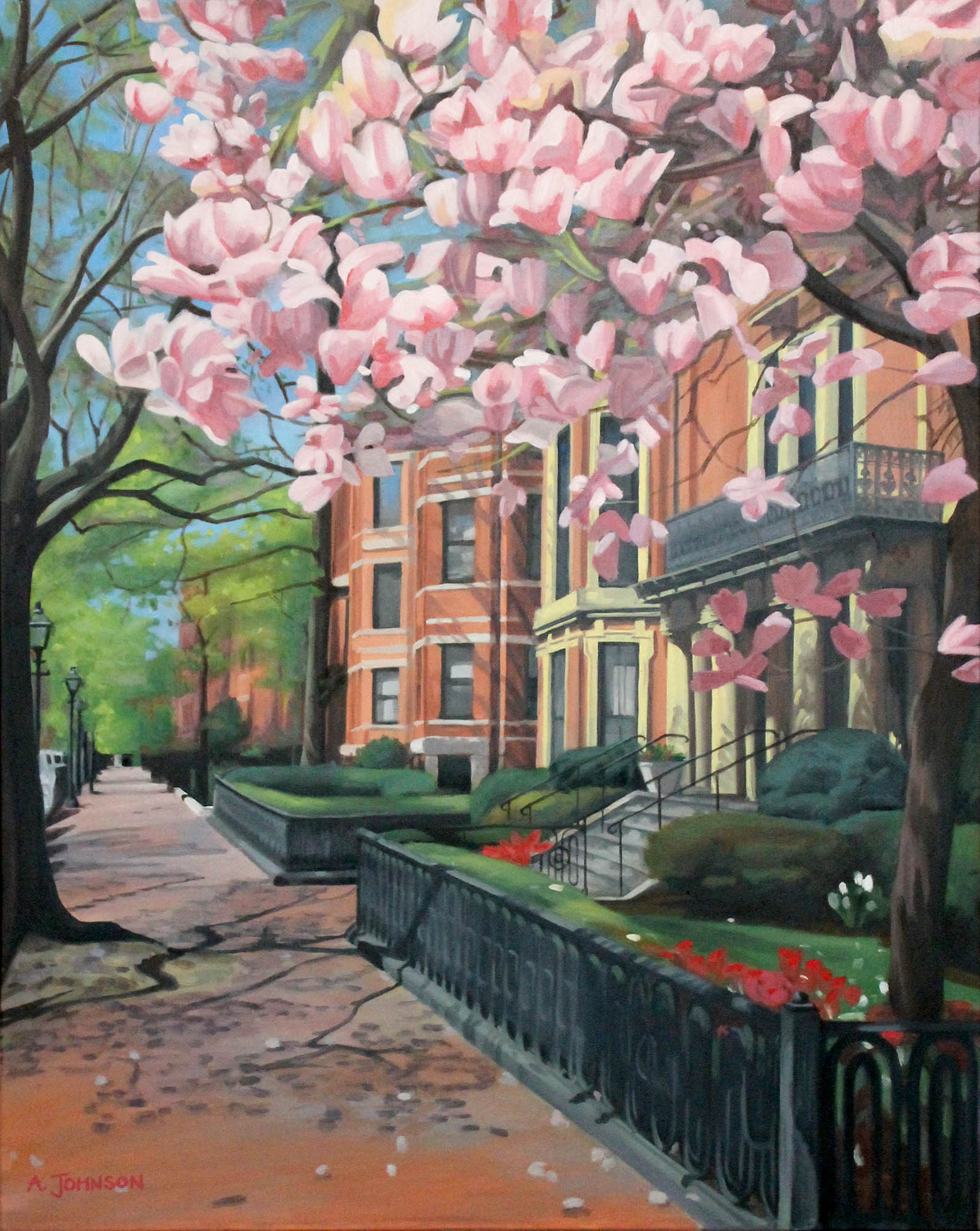 Marlborough Street, Boston