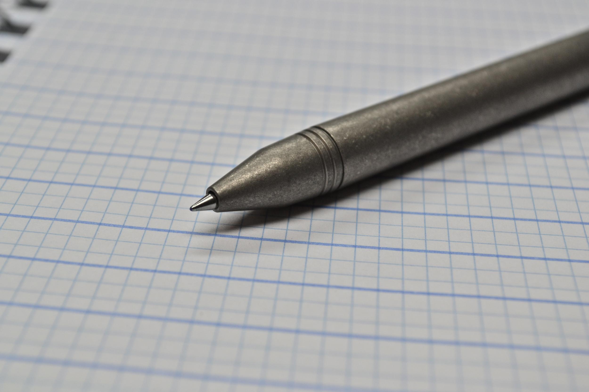 Ti-Click Classic Raw Titanium Kickstarter Pen Review