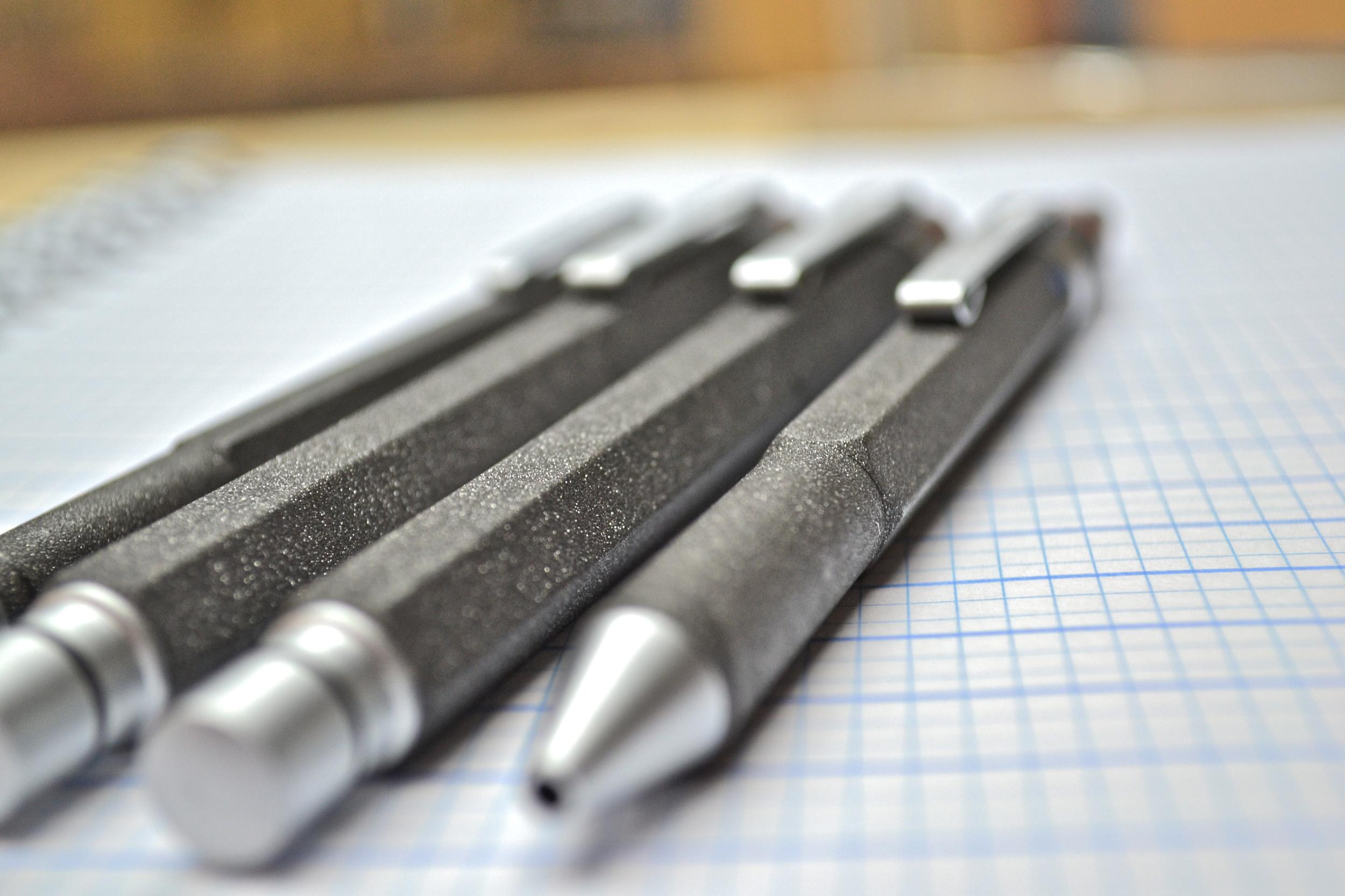 rOtring Lava Multipen fountain pen ballpoint rollerball