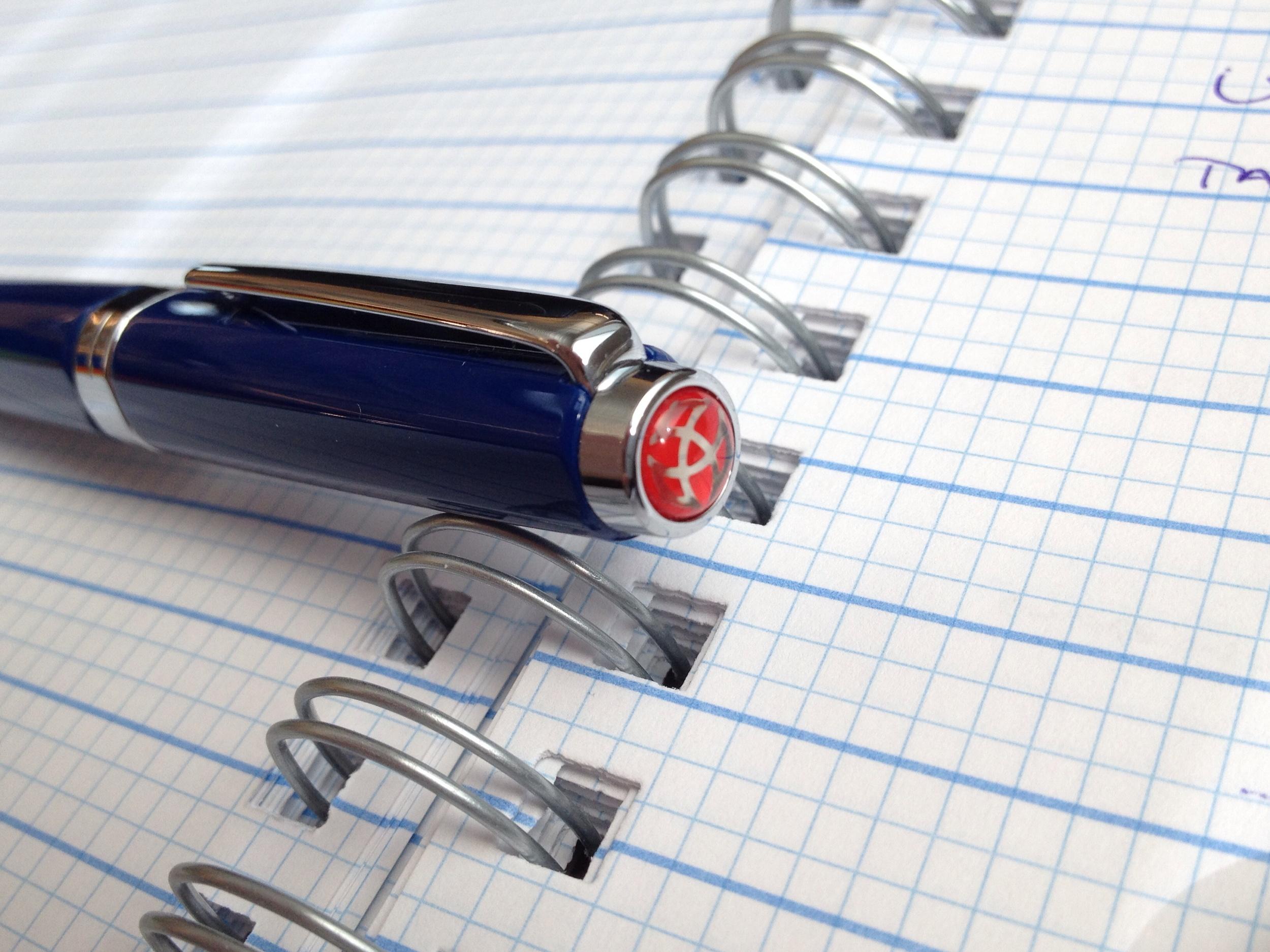TWSBI Blue Classic 1.1 Stub Pen Review
